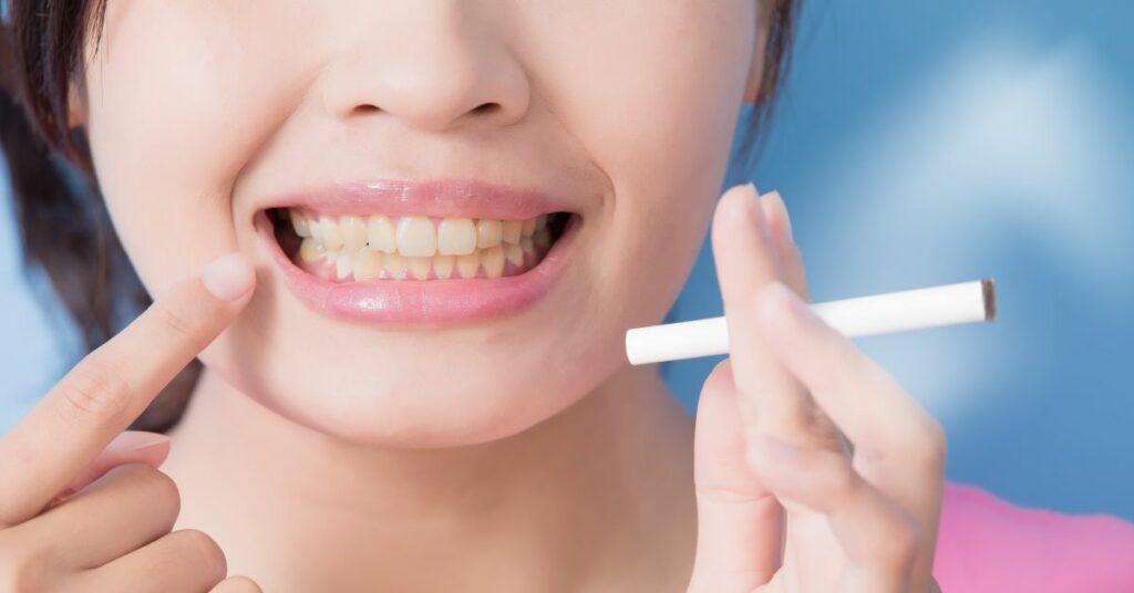 Огромный вред курения на внешность человека картинка