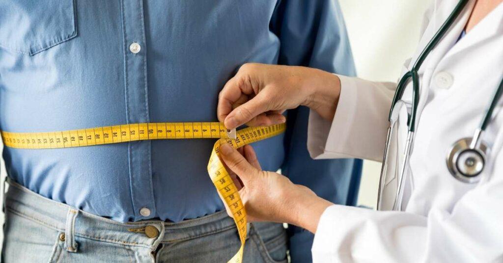 Какие бывают степени ожирения в зависимости от идеальной массы тела? Картинка